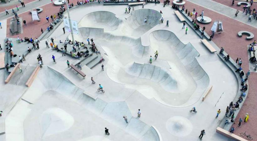 Les 10 parties d'un skatepark